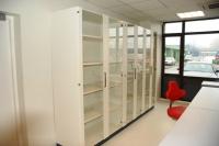 Лабораторные шкафы для хранения со стеклянными дверками